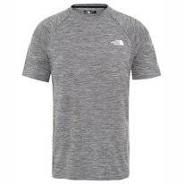T-Shirt The North Face Men Impendor Seamless Tee TNF Black White Heather