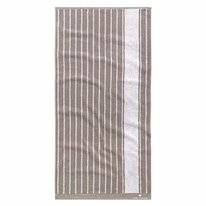 Handdoek Tom Tailor Maritim Stripes Stone (Set van 2)