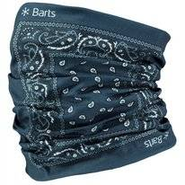 Sjaal Barts Unisex Multicol Paisly Blue