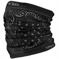 Scarf Barts Unisex Multicol Paisly Black