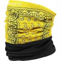 Neck Warmer Barts Unisex Multicol Polar Print Yellow