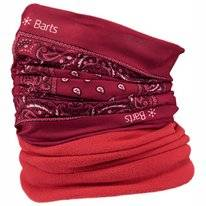 Scarf Barts Unisex Multicol Polar Paisly Red