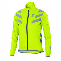 Fietsjack Sportful Kids Reflex 2 Jacket Yellow Fluo