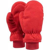 Mittens Barts Kids Fleece Mitts Red