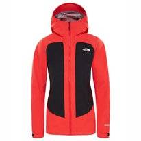 Jas The North Face Women Impendor Cknit Shell Juicy Red TNF Black
