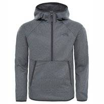 Kinder Trui The North Face Boys Tek Glacier 1/4 Zip TNF Medium Grey Heather