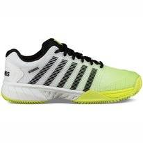 Tennisschoen K Swiss Men Hypercourt EXP HB White Neon Yellow Black