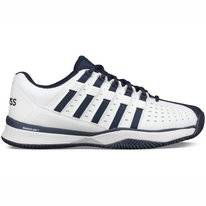 Tennisschoen K Swiss Men Hypermatch HB White Navy Silver
