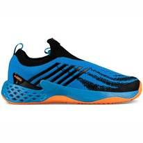 Tennisschuhe K Swiss Aero Knit Brilliant Blue Neon Orange Herren