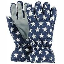 Gloves Barts Kids Basic Skigloves Blue Stars