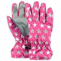 Handschoen Barts Kids Basic Skigloves Berry Stars