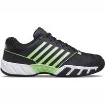 Tennisschoen K Swiss Men Bigshot Light 4 Blue Graphite Soft Neon Green White