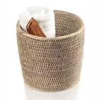 Pot Decor Walther Basket Rond Ratin Clair