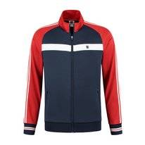 Tennisvest K Swiss Men Heritage Sport Tracksuit Jacket Navy Red