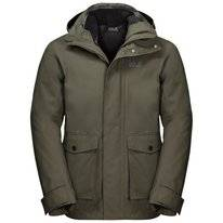 Jas Jack Wolfskin Men Falster Bay Dark Moss