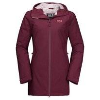 Jas Jack Wolfskin Women Astana Coat Fall Red