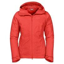 Jas Jack Wolfskin Women Argon Storm Jacket Orange Coral