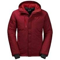 Jas Jack Wolfskin Men Troposphere Jacket Dark Lacquer Red