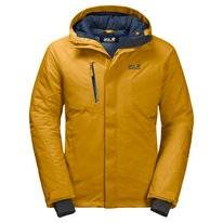 Jas Jack Wolfskin Men Troposphere Jacket Golden Yellow