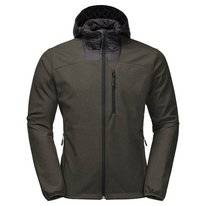 Jas Jack Wolfskin Men Sky Point Hoody Dark Moss