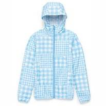 Jacket Herschel Supply Co. Women Voyage Wind Alaskan Blue Gingham