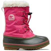 Bottes de niege Sorel Children Pack Nylon UltraPink Alpine Tundra