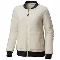 Vest Columbia Women Feeling Frosty Sherpa FZ LightBisque