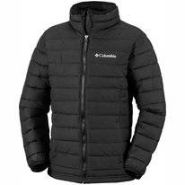 Jacke Columbia Powder Lite Boys Black Kinder