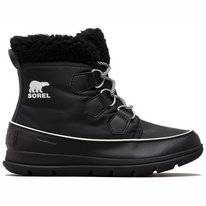 Bottes de neige Sorel Women Explorer Carnival Black Sea Salt