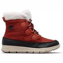 Bottes de neige Sorel Women Explorer Carnival Rusty Black