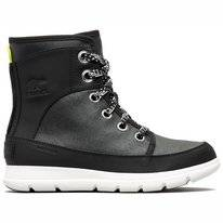 Bottes de neige Sorel Women Explorer 1964 Black Sea Salt