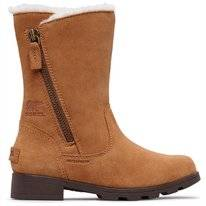 Sorel Youth Emelie Foldover Camel Brown Natural