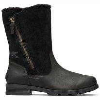 Sorel Women Emelie Foldover Black