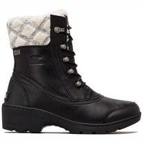 Bottes de neige Sorel Women Whistler Mid Black Natural