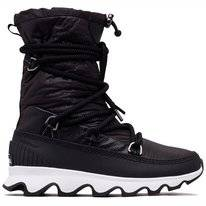 Sorel Women Kinetic Boot Black White