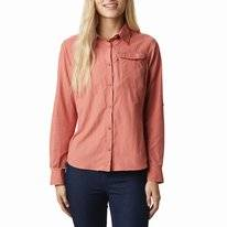 Blouse Columbia Women Silver Ridge 2.0 Long Sleeve Dark Coral