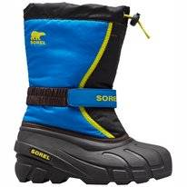 Bottes de Neige Sorel Youth Flurry Black Super