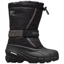 Bottes de Neige Sorel Youth Flurry Black City