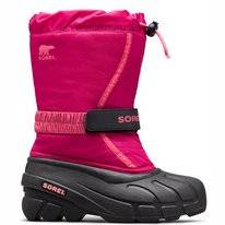 Bottes de Neige Sorel Youth Flurry Deep Blush