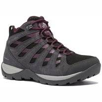 Wandelschoen Columbia Women Redmond V2 Mid WP Black Cherry