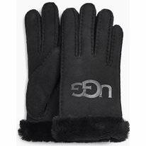 Handschoen UGG Women Sheepskin Logo Glove Black