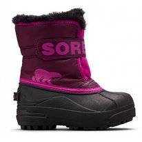 Bottes de Neige Sorel Toddler Snow Commander Purple Dahlia