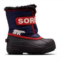 Bottes de Neige Sorel Toddler Snow Commander Nocturnal Sail