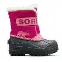 Bottes de Neige Sorel Toddler Snow Commander Tropic Pink