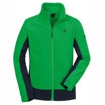 Fleecejacke Schöffel Fleece Jacket Lugano2 Fern Green Kinder