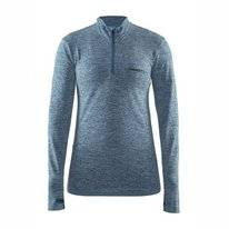 Ondershirt Craft Women Active Comfort Zip Blue
