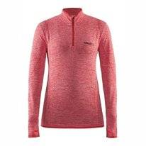 Ondershirt Craft Women Active Comfort Zip Pink