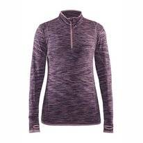 Ondershirt Craft Active Comfort Zip Women Purple