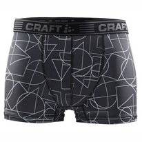 Boxershort Craft Men Greatness Boxer 3-Inch Black White