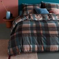Dekbedovertrek Beddinghouse Joss Blue Flanel